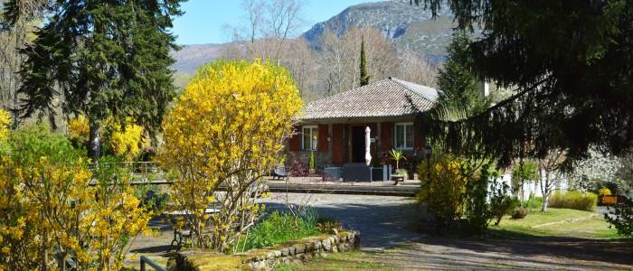Forges d'enfalits - chambres d'hôtes en Ariège - parc - gros bandeau n°1
